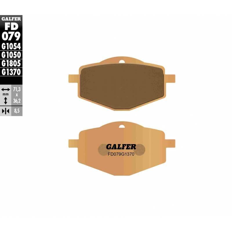 PASTILLAS FRENO GALFER FD079-G1370 MOTO (sinterizado)
