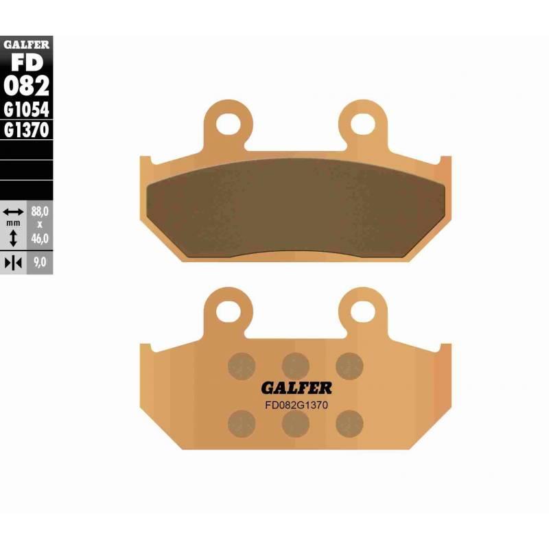 PASTILLAS FRENO GALFER FD082-G1370 MOTO (sinterizado)