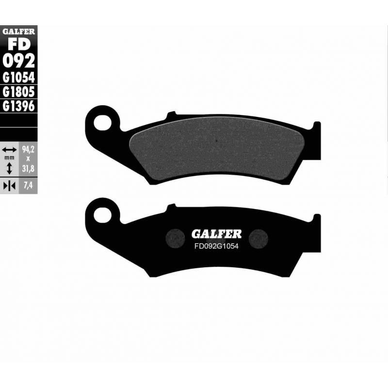 PASTILLAS FRENO GALFER FD092-G1054 (semi-metálicas)