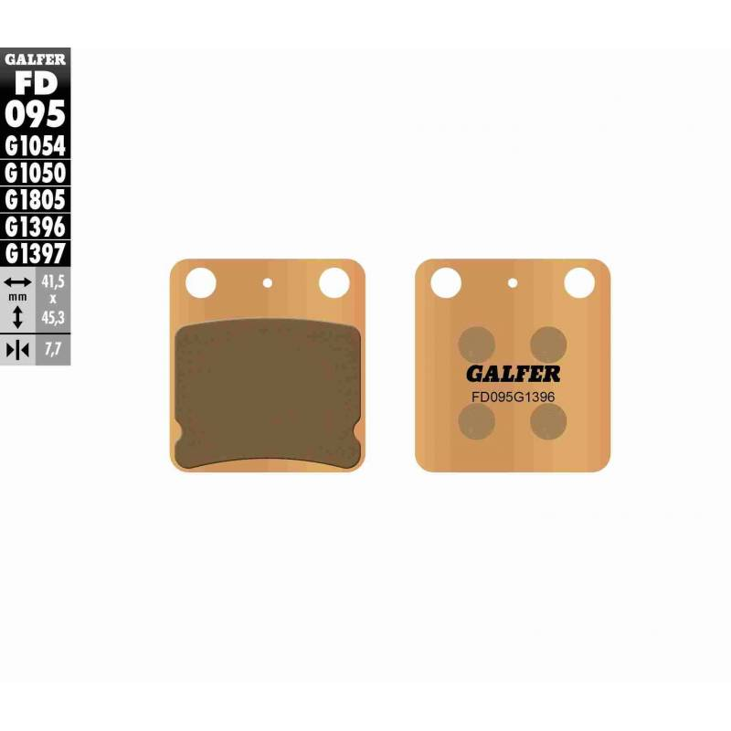 PASTILLAS FRENO GALFER FD095-G1396 OFF ROAD