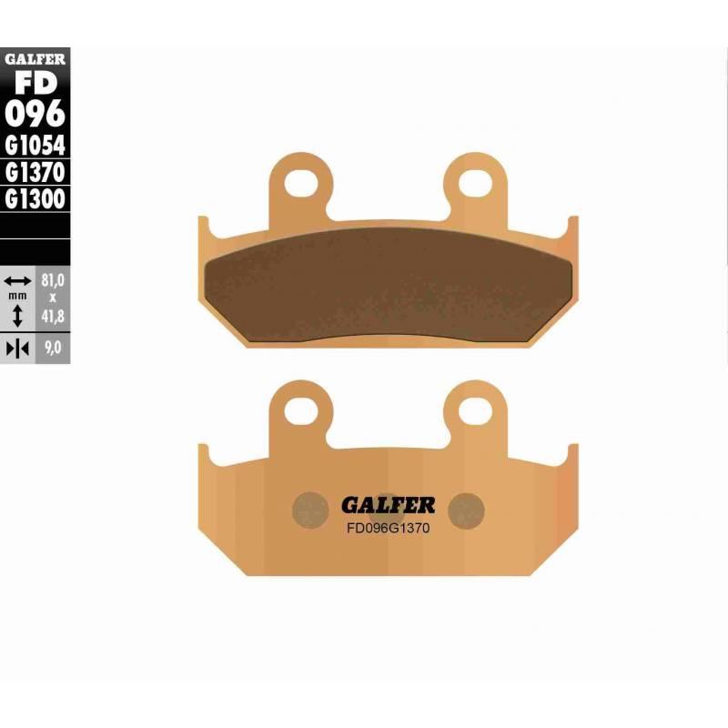 PASTILLAS FRENO GALFER FD096-G1370 MOTO (sinterizado)