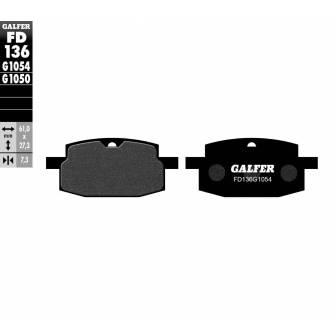PASTILLAS FRENO GALFER FD136-G1054 (semi-metálicas)