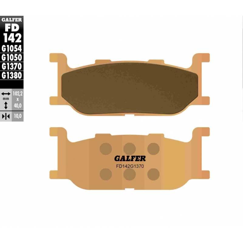 PASTILLAS FRENO GALFER FD142-G1370 MOTO (sinterizado)