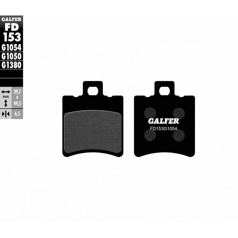 PASTILLAS FRENO GALFER FD153-G1054 (semi-metálicas)