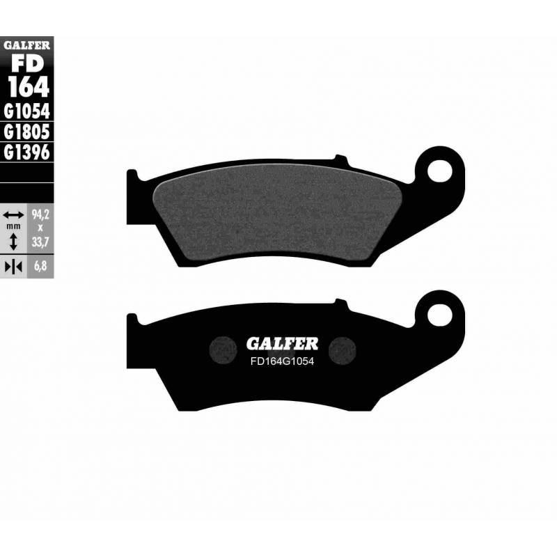 PASTILLAS FRENO GALFER FD164-G1054 (semi-metálicas)