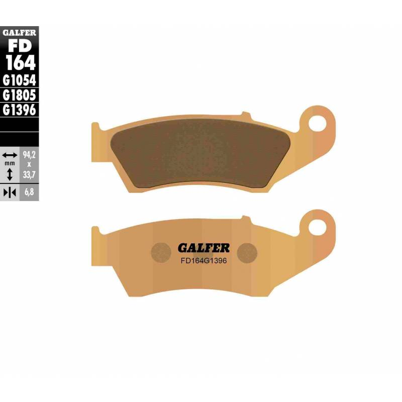 PASTILLAS FRENO GALFER FD164-G1396 OFF ROAD