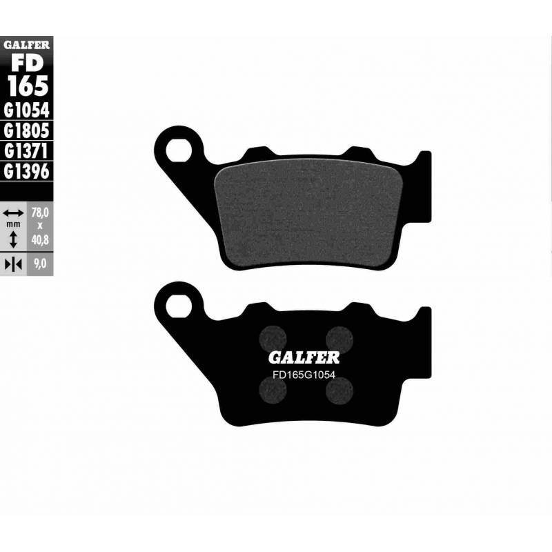 PASTILLAS FRENO GALFER FD165-G1054 (semi-metálicas)