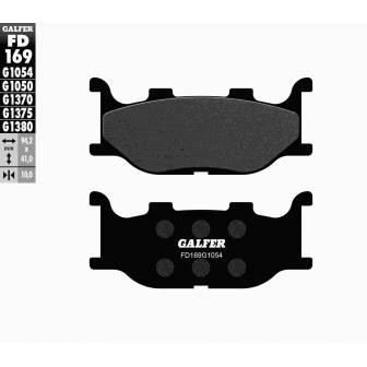 PASTILLAS FRENO GALFER FD169-G1054 (semi-metálicas)