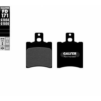 PASTILLAS FRENO GALFER FD171-G1054 (semi-metálicas)