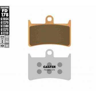 PASTILLAS FRENO GALFER FD178-G1375 MOTO (cerámico/metálico)