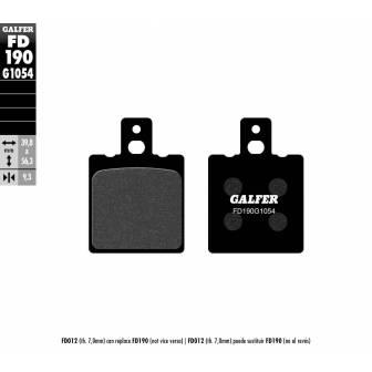 PASTILLAS FRENO GALFER FD190-G1054 (semi-metálicas)