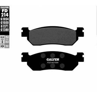 PASTILLAS FRENO GALFER FD214-G1054 (semi-metálicas)