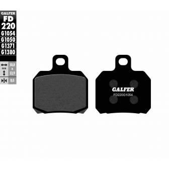 PASTILLAS FRENO GALFER FD220-G1054 (semi-metálicas)