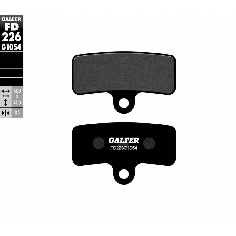 PASTILLAS FRENO GALFER FD226-G1054 (semi-metálicas)