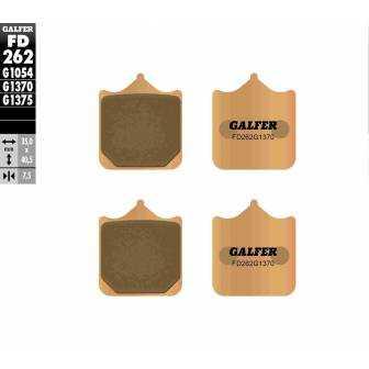 PASTILLAS FRENO GALFER FD262-G1370 MOTO (sinterizado)