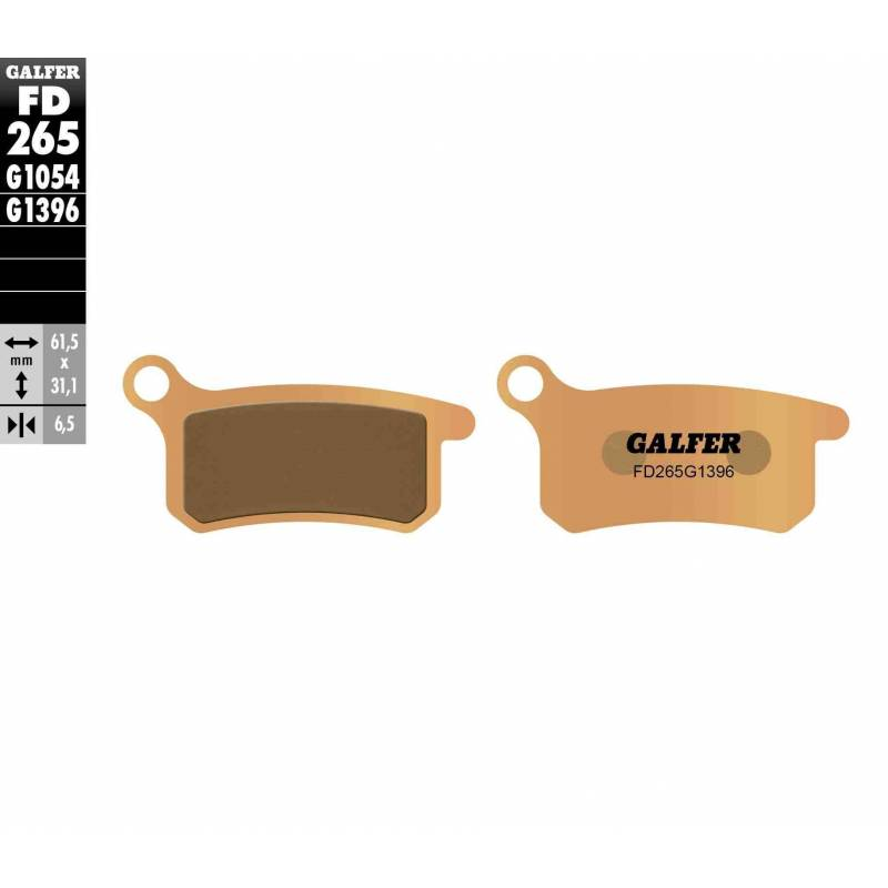 PASTILLAS FRENO GALFER FD265-G1396 OFF ROAD