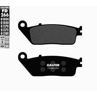 PASTILLAS FRENO GALFER FD266-G1054 (semi-metálicas)