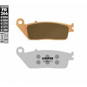 PASTILLAS FRENO GALFER FD266-G1375 MOTO (cerámico/metálico)