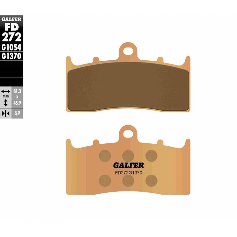 PASTILLAS FRENO GALFER FD272-G1370 MOTO (sinterizado)