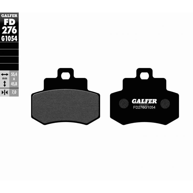 PASTILLAS FRENO GALFER FD276-G1054 (semi-metálicas)