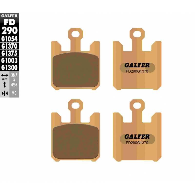 PASTILLAS FRENO GALFER FD290-G1370 MOTO (sinterizado)