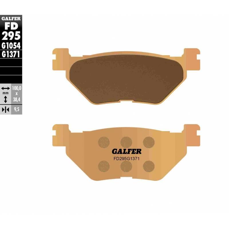 PASTILLAS FRENO GALFER FD295-G1371 MOTO (sinterizado) traseras