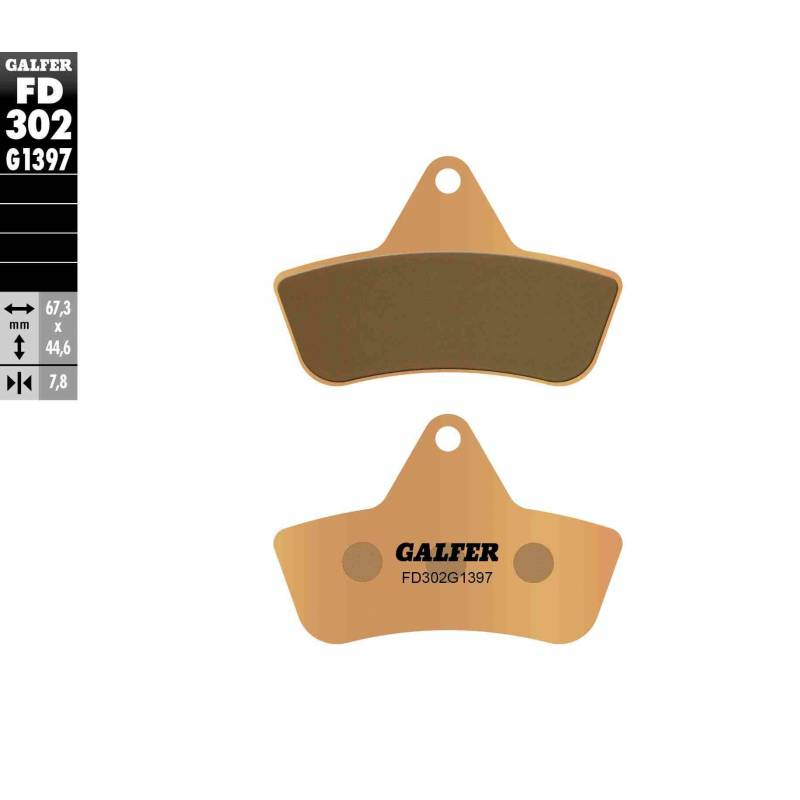 PASTILLAS FRENO GALFER FD302-G1397 OFF ROAD (Quads/ATV)