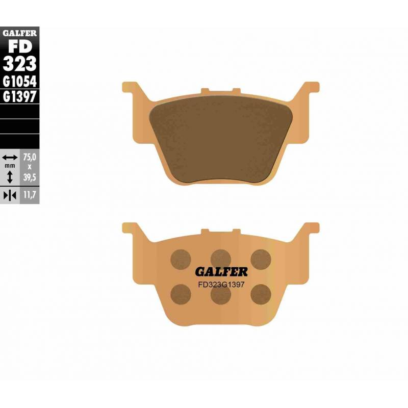 PASTILLAS FRENO GALFER FD323-G1397 OFF ROAD (Quads/ATV)