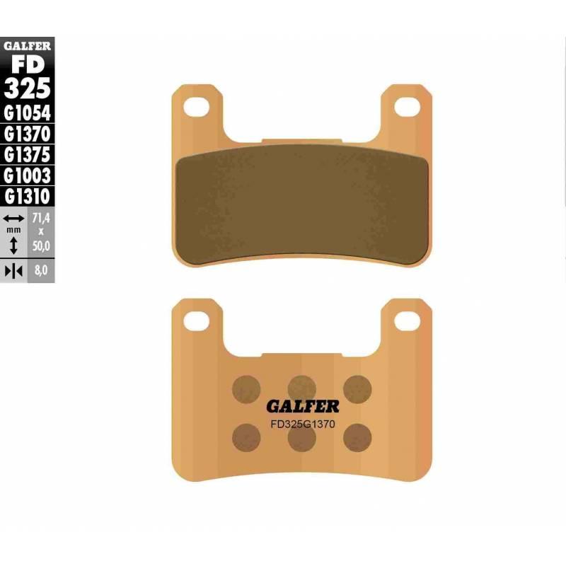 PASTILLAS FRENO GALFER FD325-G1370 MOTO (sinterizado)