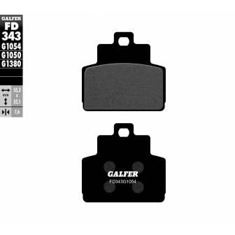 PASTILLAS FRENO GALFER FD343-G1054 (semi-metálicas)