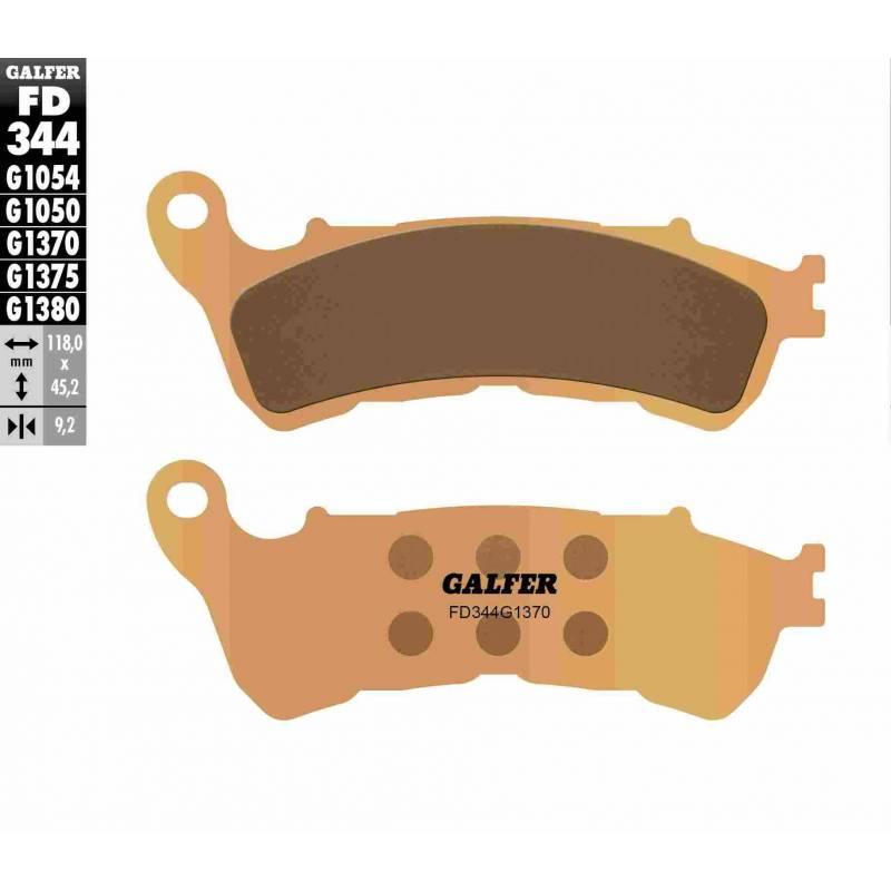 PASTILLAS FRENO GALFER FD344-G1370 MOTO (cerámico metálico)