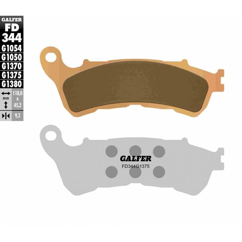PASTILLAS FRENO GALFER FD344-G1375 MOTO (cerámico/metálico)