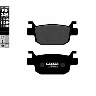 PASTILLAS FRENO GALFER FD345-G1054 (semi-metálicas)
