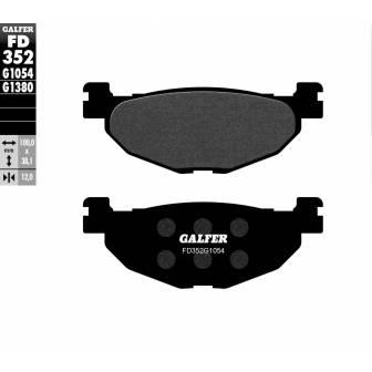 PASTILLAS FRENO GALFER FD352-G1054 (semi-metálicas)