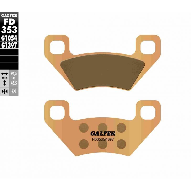 PASTILLAS FRENO GALFER FD353-G1397 OFF ROAD (Quads/ATV)