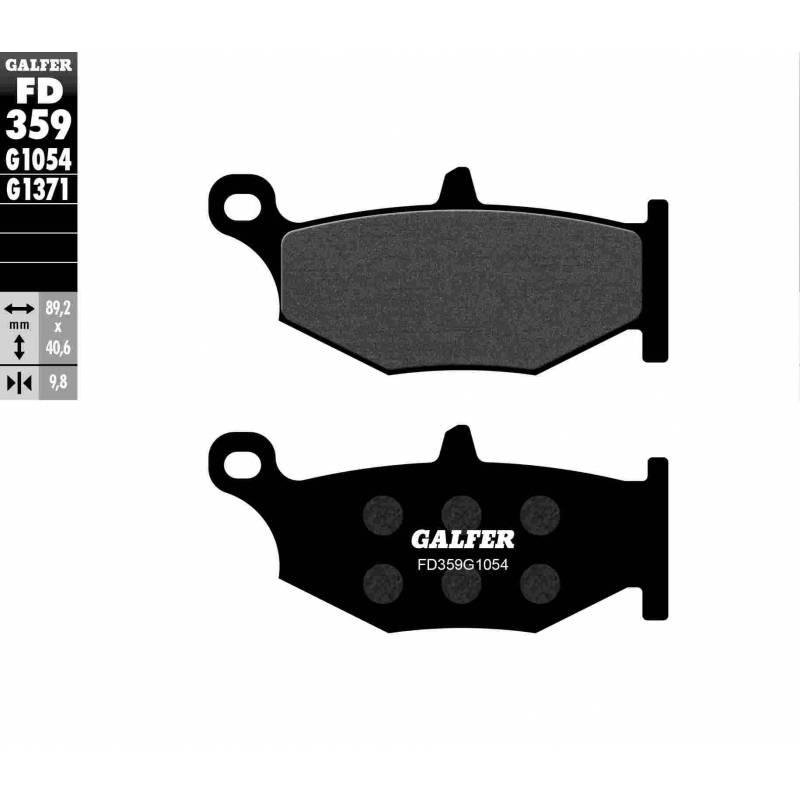 PASTILLAS FRENO GALFER FD359-G1054 (semi-metálicas)