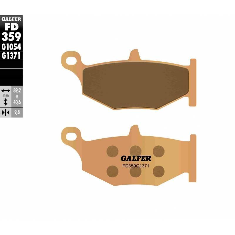 PASTILLAS FRENO GALFER FD359-G1371 MOTO