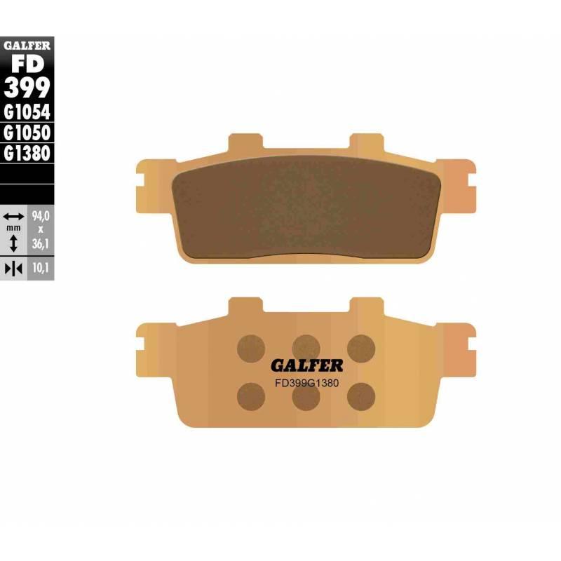 PASTILLAS FRENO GALFER FD399-G1380 MOTO (cerámico/metálico)