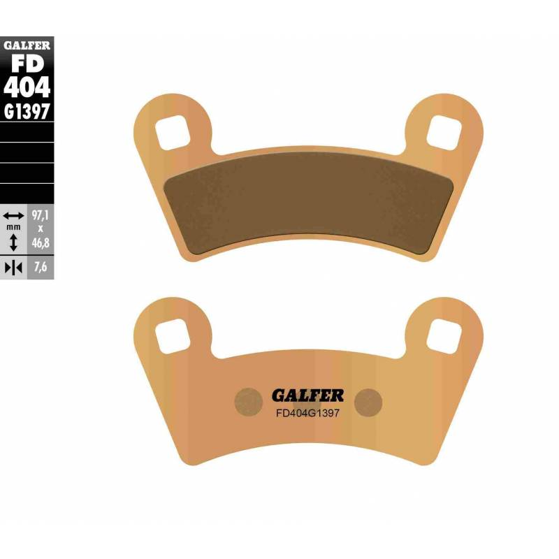 PASTILLAS FRENO GALFER FD404-G1397 OFF ROAD (Quads/ATV)