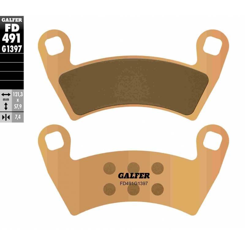PASTILLAS FRENO GALFER FD491-G1397 OFF ROAD (Quads/ATV)