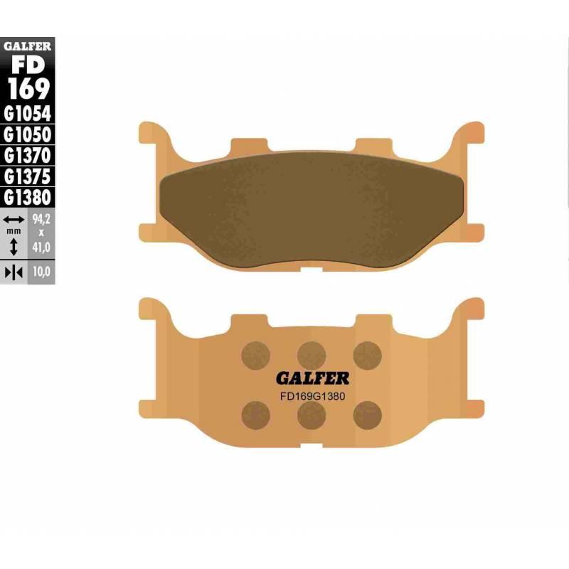 PASTILLAS FRENO GALFER FD169-G1380-83 SCOOTERS (cerámico/metálico)