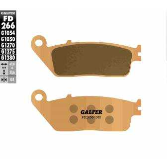 PASTILLAS FRENO GALFER FD266-G1380-83 SCOOTERS (cerámico/metálico)