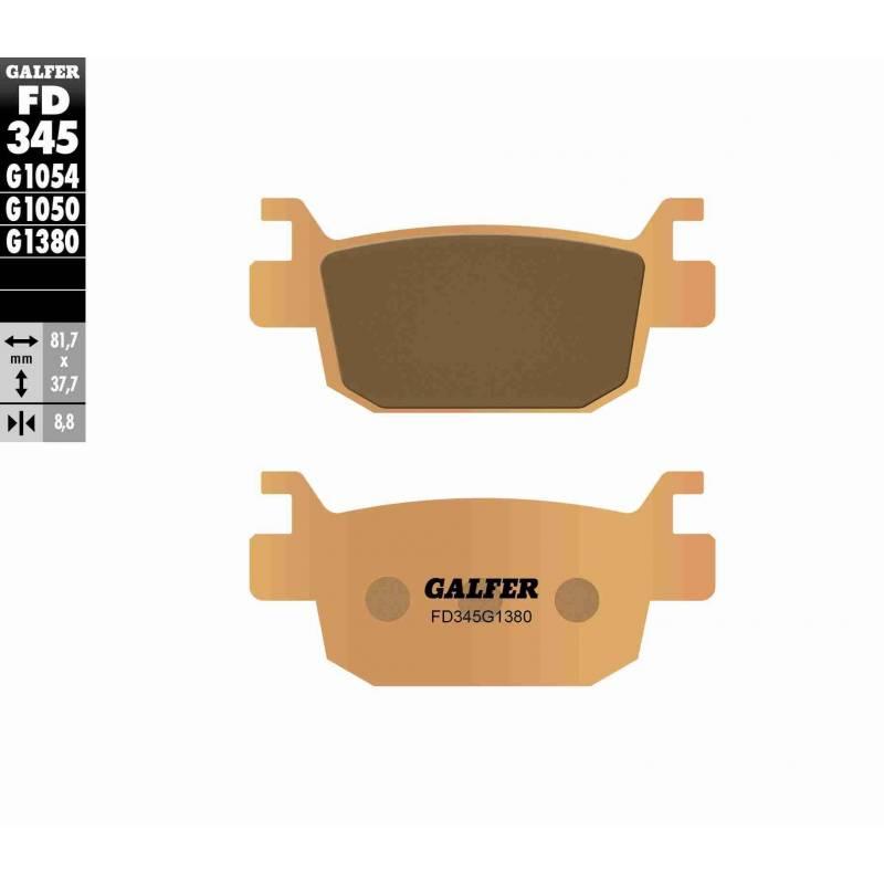 PASTILLAS FRENO GALFER FD345-G1380-83 SCOOTERS (cerámico/metálico)