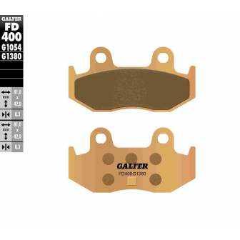 PASTILLAS FRENO GALFER FD400-G1380-83 SCOOTERS (cerámico/metálico)