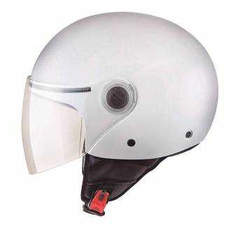Casco MT Street Solid MT1105000 Blanco brillo