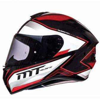 Casco MT Targo Interac MT11174540 Rojo perla brillo