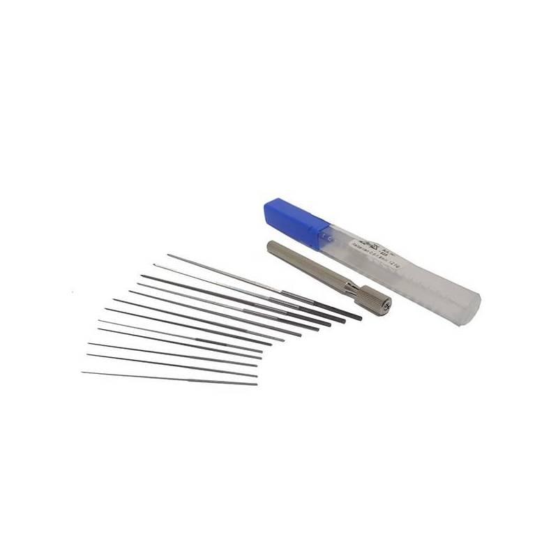Juego escariador chicles de Ø 0,6 - 1,9 mm