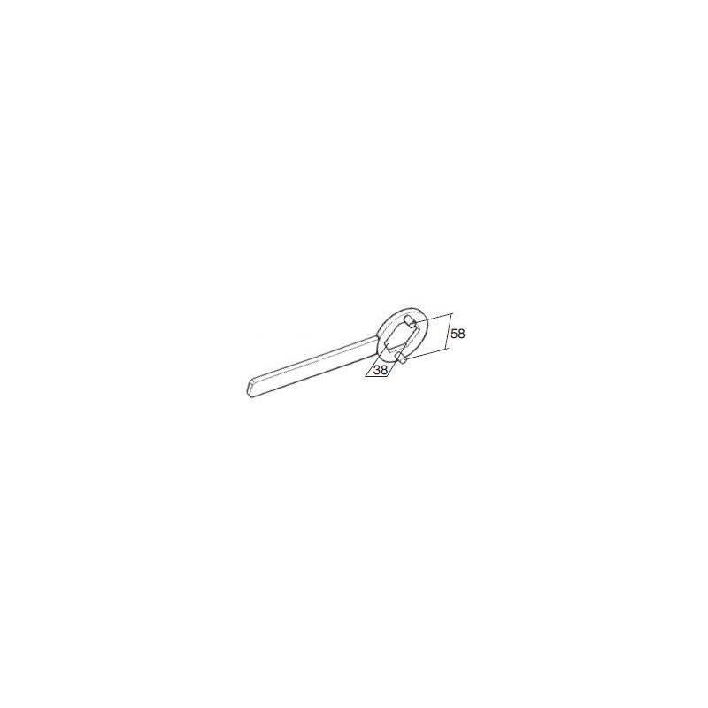 Bloqueador polea 38mm Buzzetti 5495
