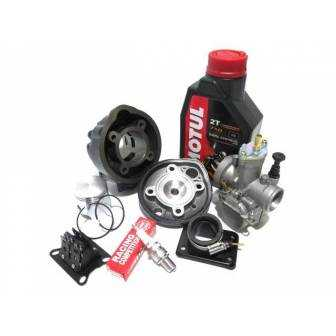 Preparación motor AM6 TOP Negro 74cc