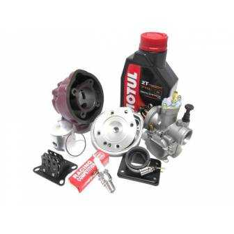 Preparación motor AM6 TOP Rosa culatin 74cc